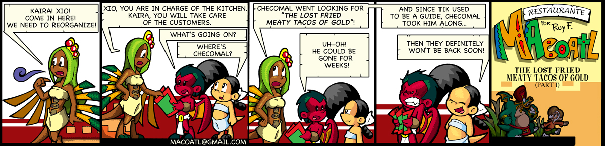 The Lost Friend Meaty Tacos of Gold